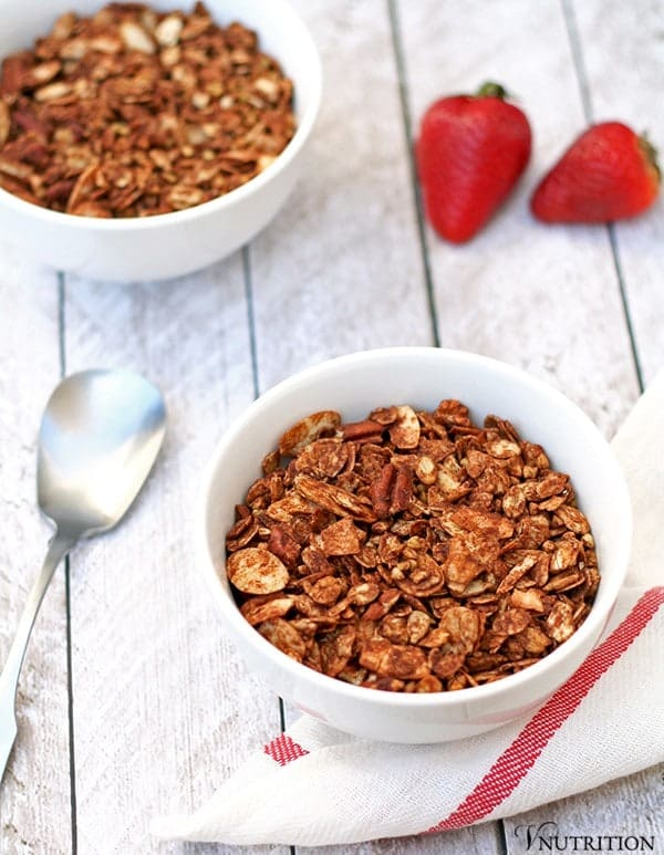 Chocolate Buckwheat Granola