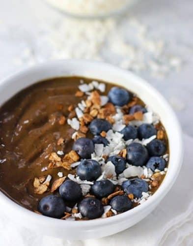 Chocolate Berry Smoothie Bowl