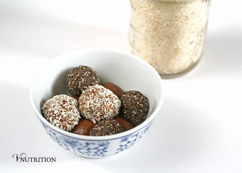 Chocolate Protein Bites 2