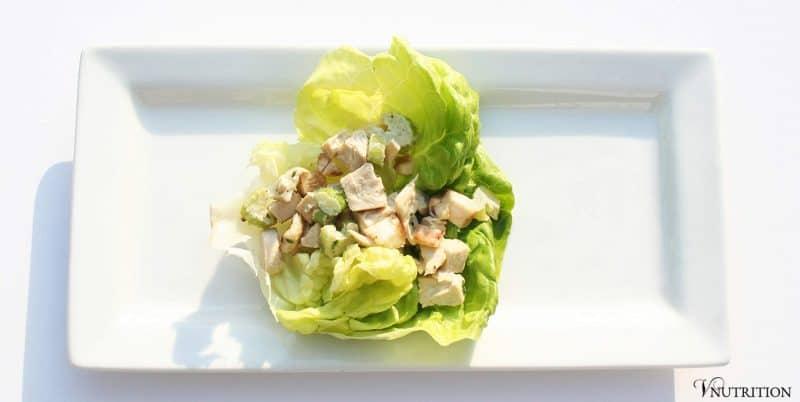 Chicken-less Lettuce Wraps