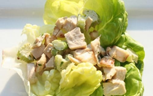 Chicken-less Lettuce Wraps