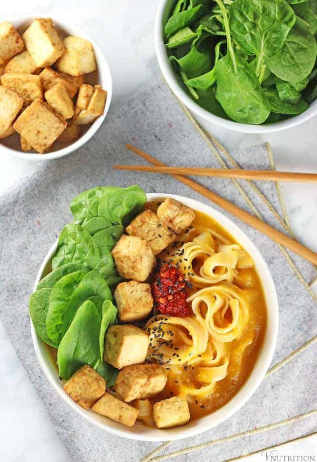 Butternut Squash Noodle Bowl