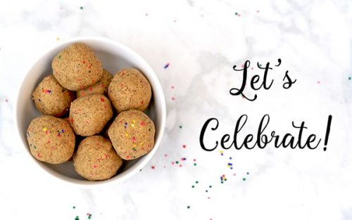 1 Year Blogiversary & Celebration Balls! {GF}