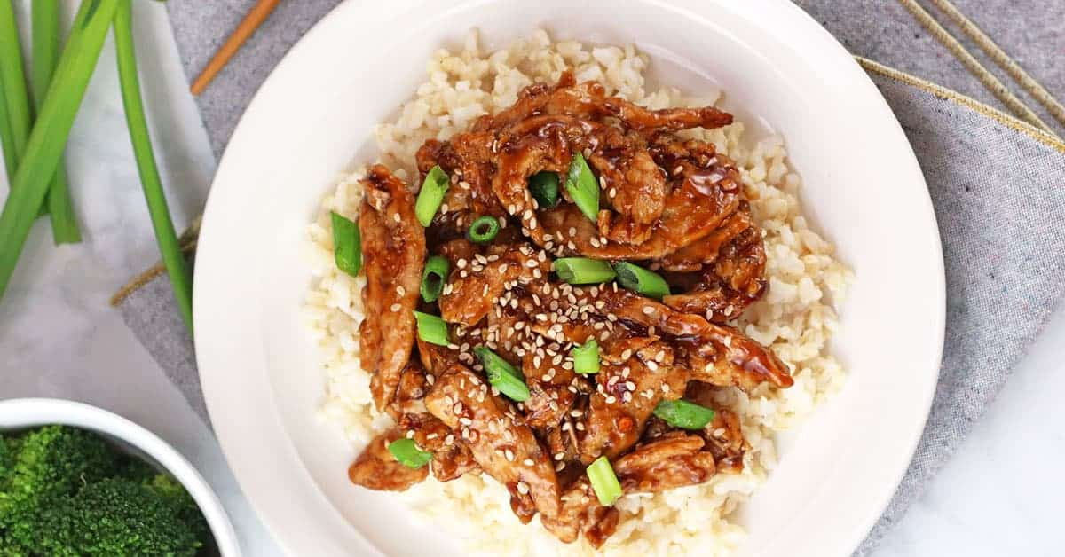 Soy Curls | A Vegan Mongolian Beef Recipe