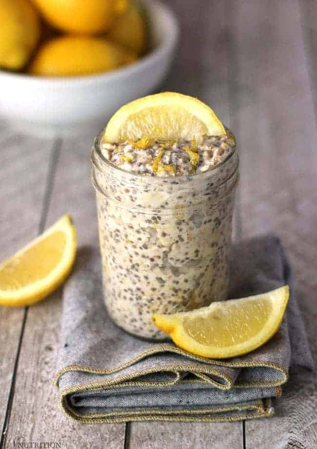 Lemon Overnight Oats