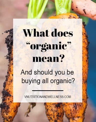 "What is ""Organic"" and should you be buying it?"