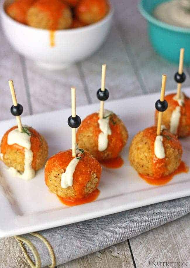 Buffalo Quinoa Balls