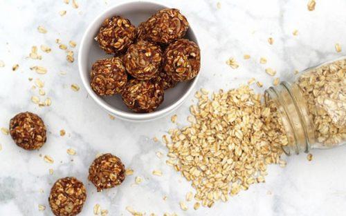 Vanilla Almond Balls {no sugar added & gluten free}