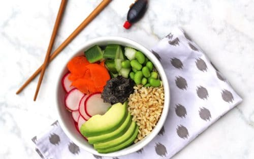 Vegan Sushi Bowl {GF}