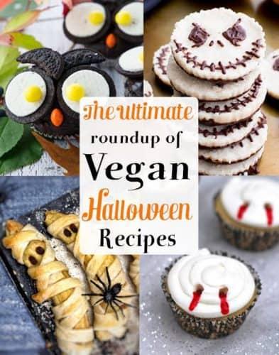 Spooky & Fun Vegan Halloween Recipes