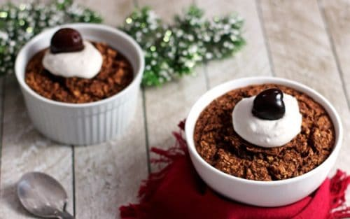 Black Forest Baked Oatmeal {GF}