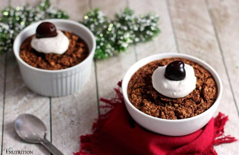 Black Forest Baked Oatmeal