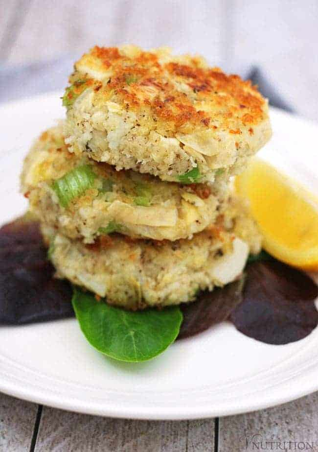 Vegan Crab Cakes Heart Of Palm And Artichoke Cake Recipe