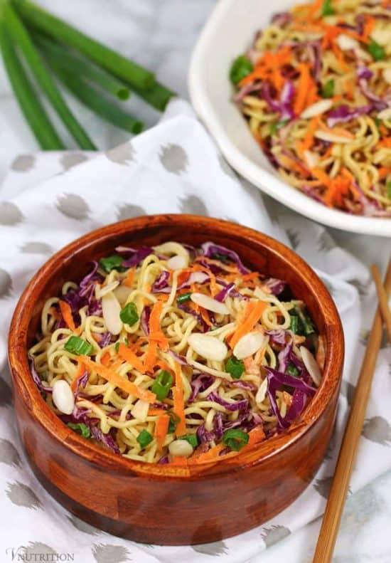 Vegan Ramen Noodle Salad