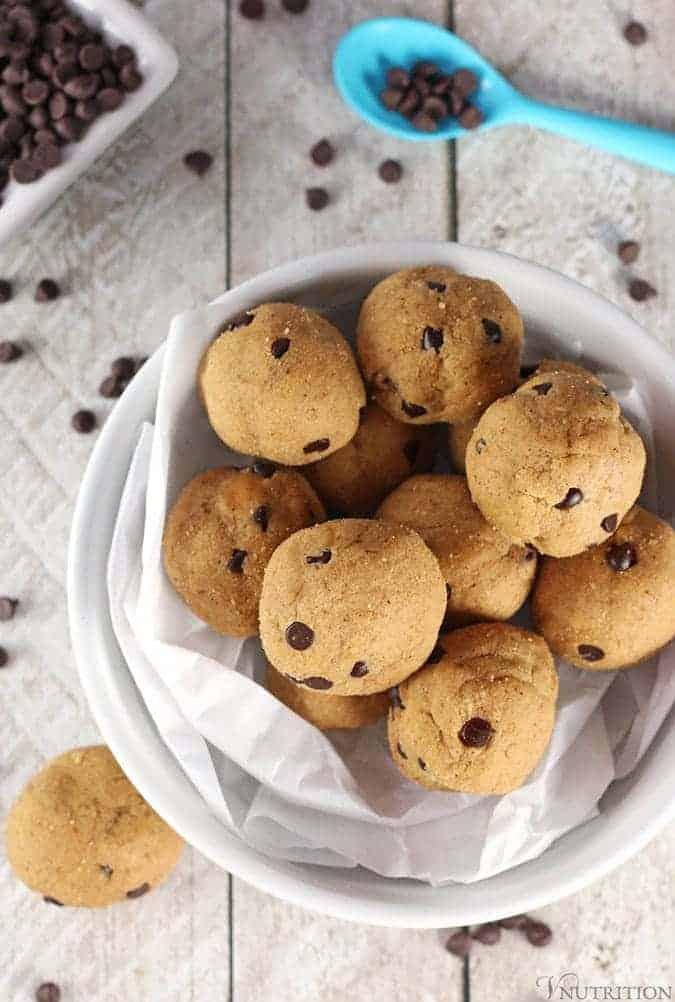 Vegan Cookie Dough Protein Balls
