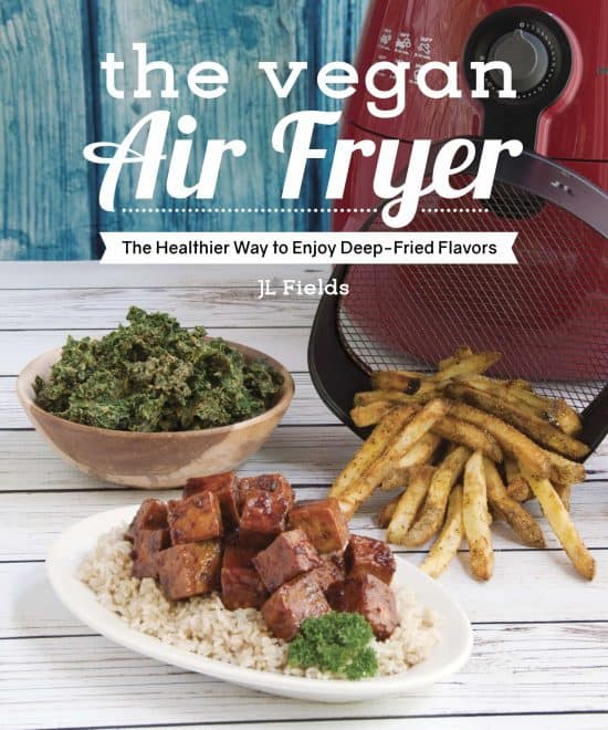 picture of the book the vegan air fryer