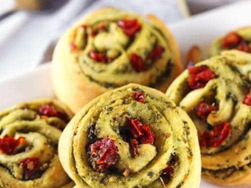 Christmas Finger Foods.Christmas Pinwheels