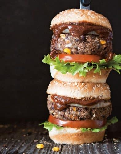 Vegan BBQ Burger {GF}