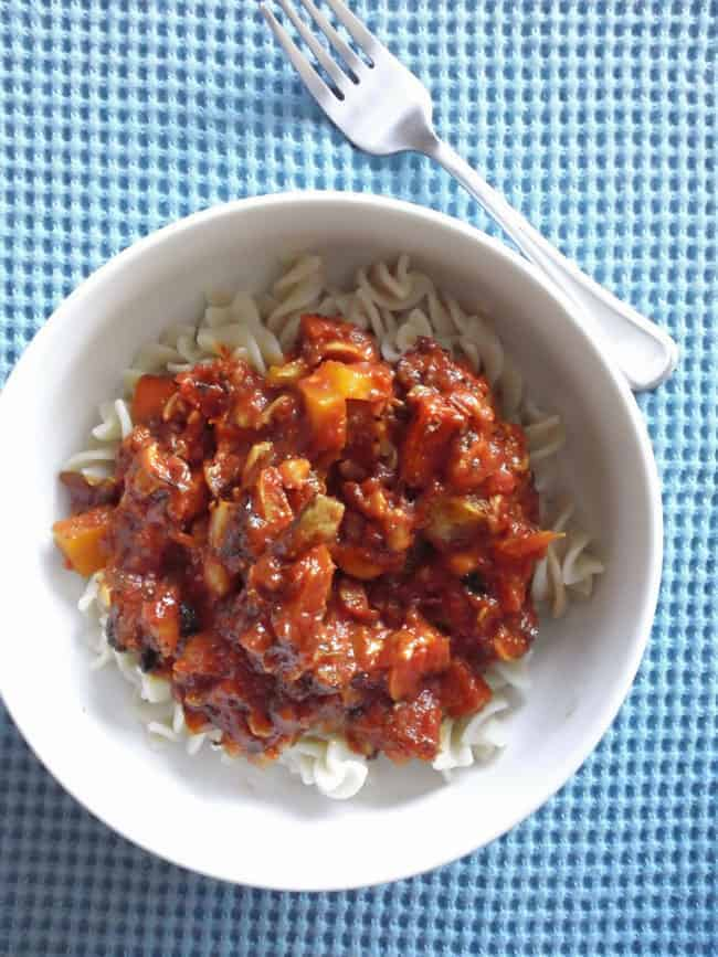 Vegan Pasta Recipes for Date Night - vegan boleganese
