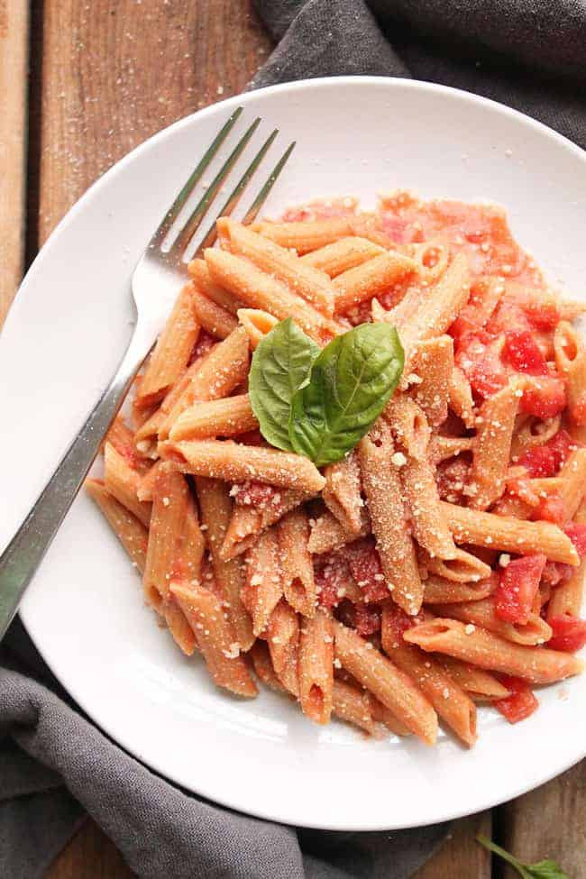 Vegan Pasta Recipes for Date Night - Vegan Vodka Sauce