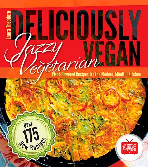 Deliciously Vegan cookbook cover