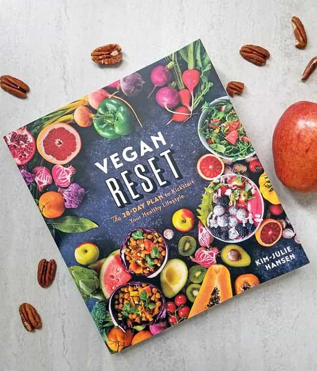 Vegan reset book