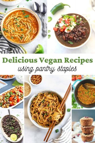 Vegan Pantry Meals