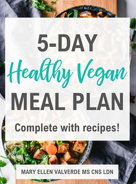 5 day healthy vegan meal plan