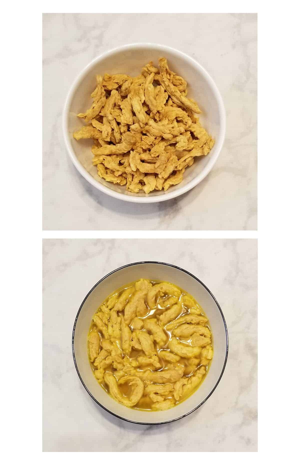 how to rehydrate butler soy curls