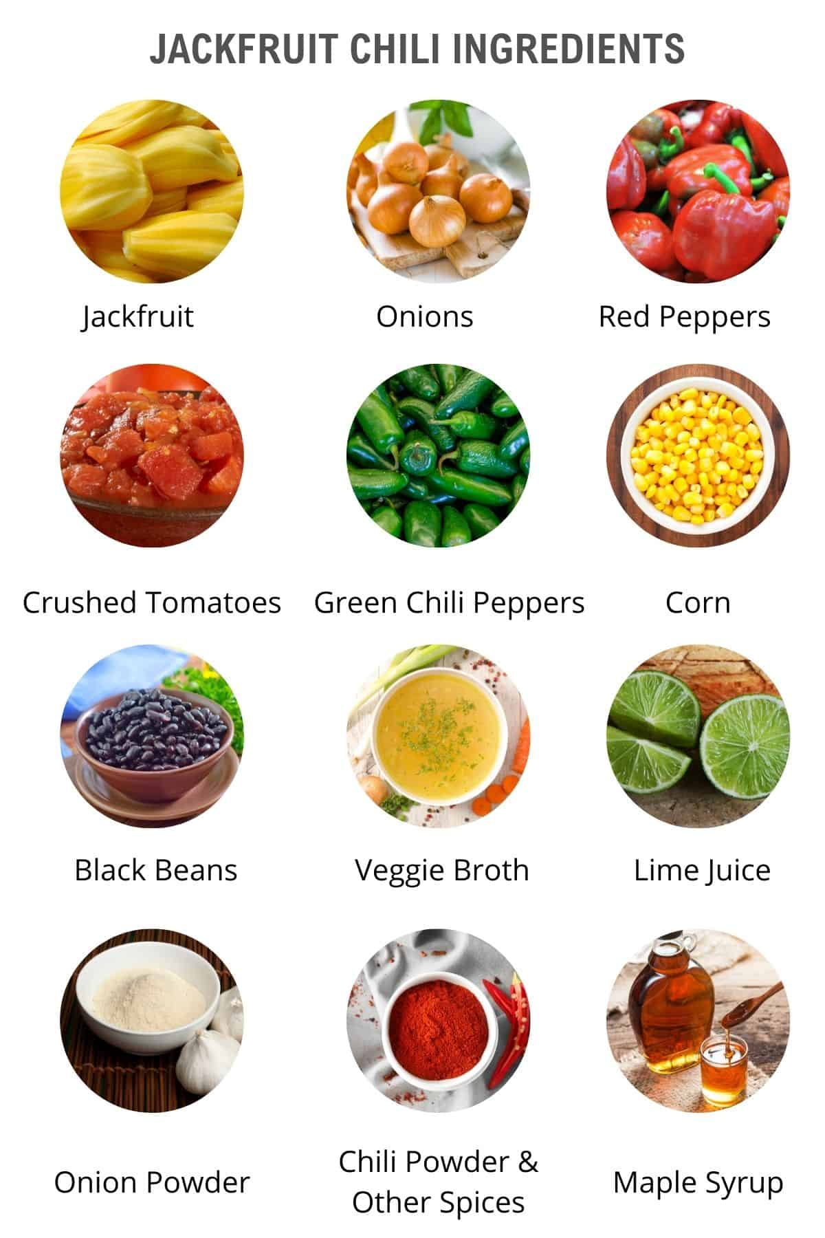 list of jackfruit chili ingredients