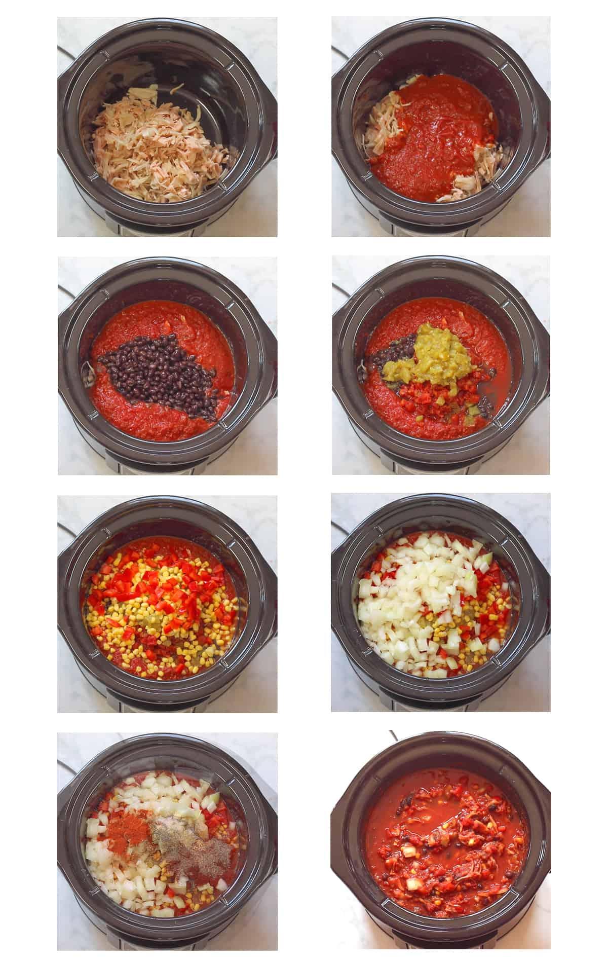 Jackfruit Chili Vegan Jackfruit Crockpot Slowcooker Chili Recipe
