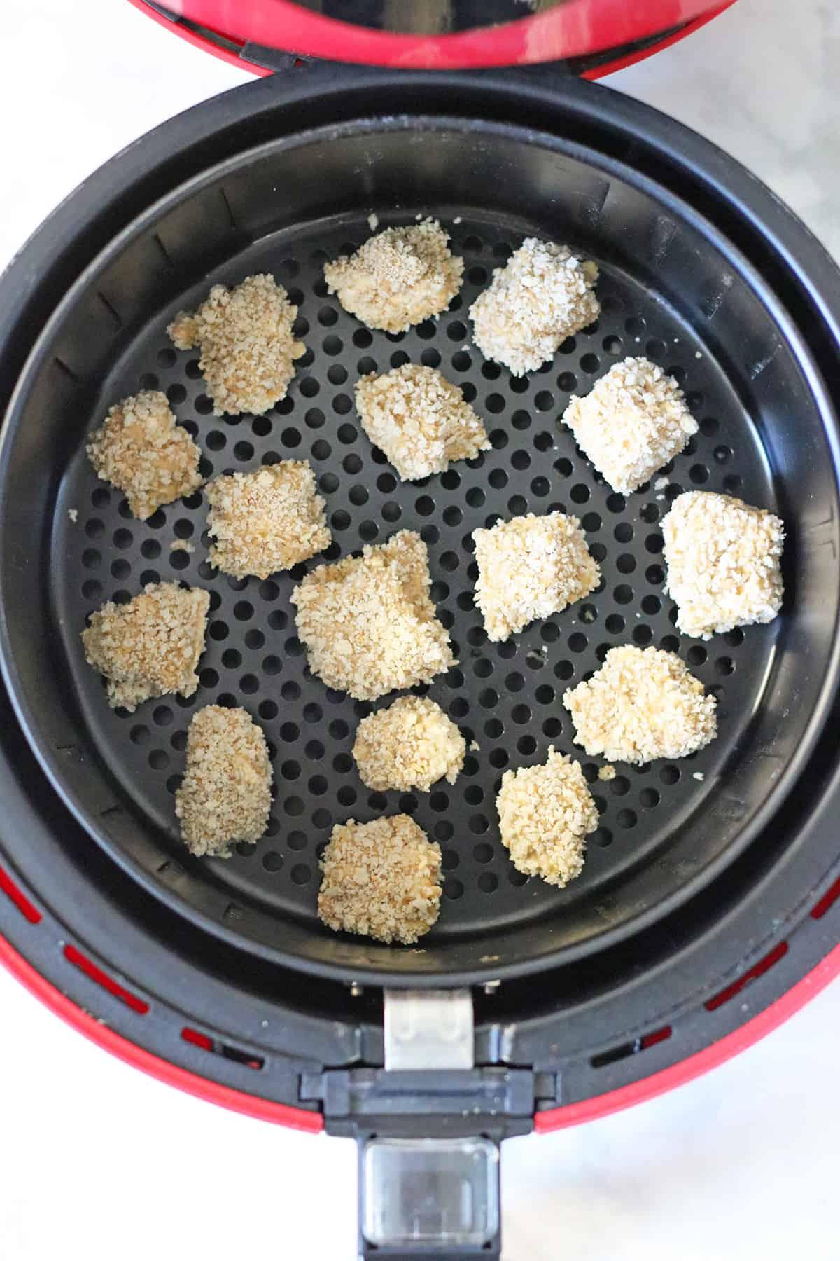 tofu nuggets in air fyer