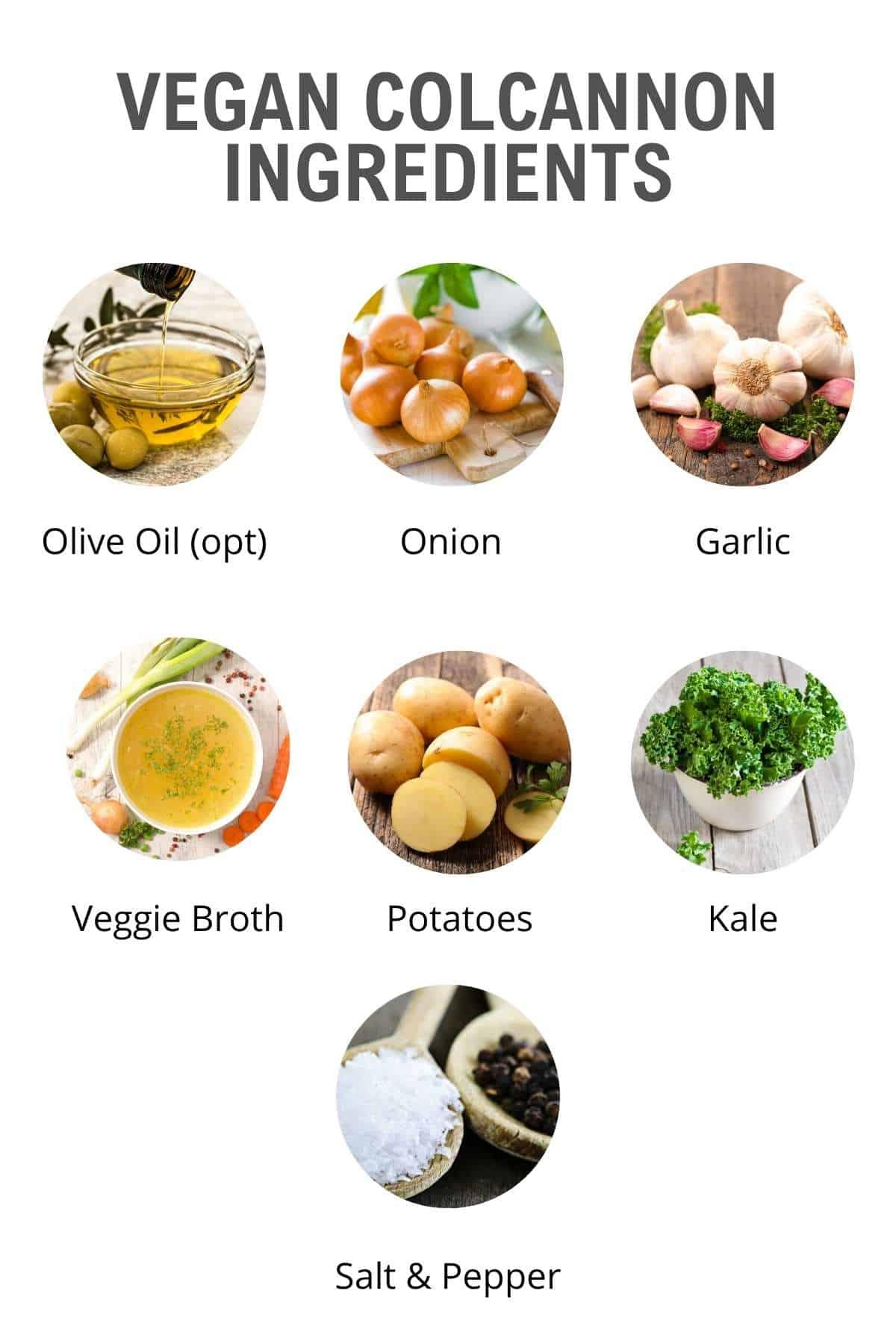 vegan colcannon soup ingredients