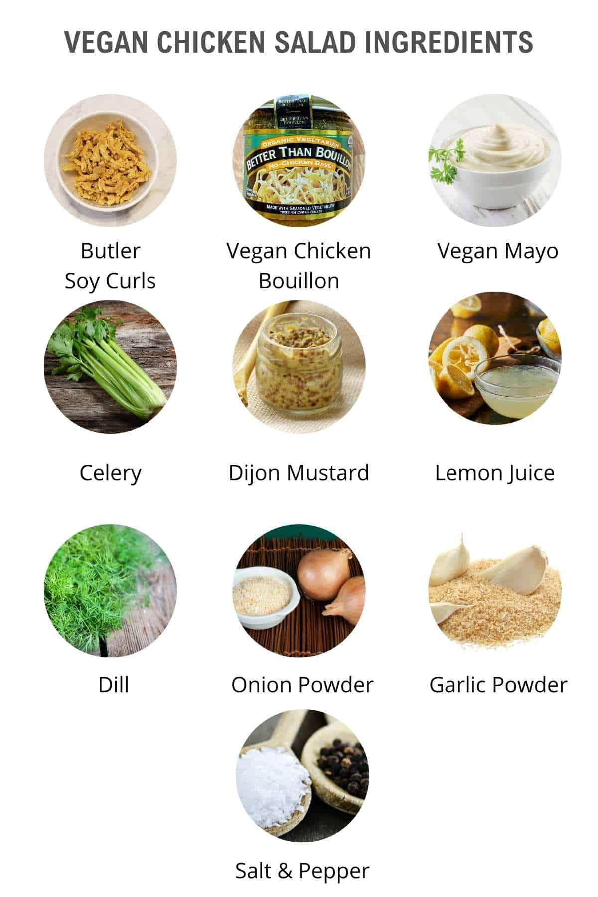 vegan chicken salad ingredients