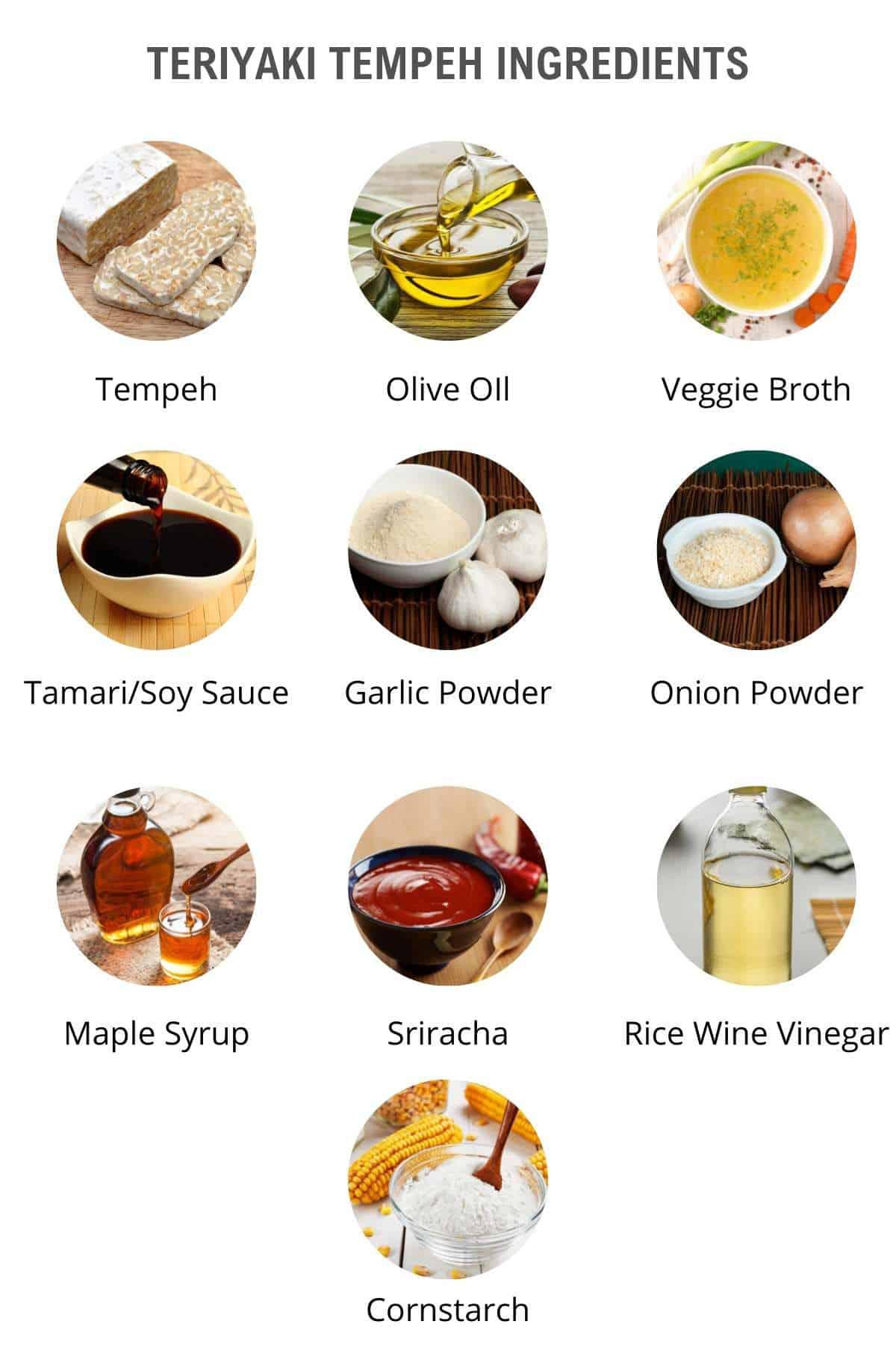 tempeh recipe ingredients
