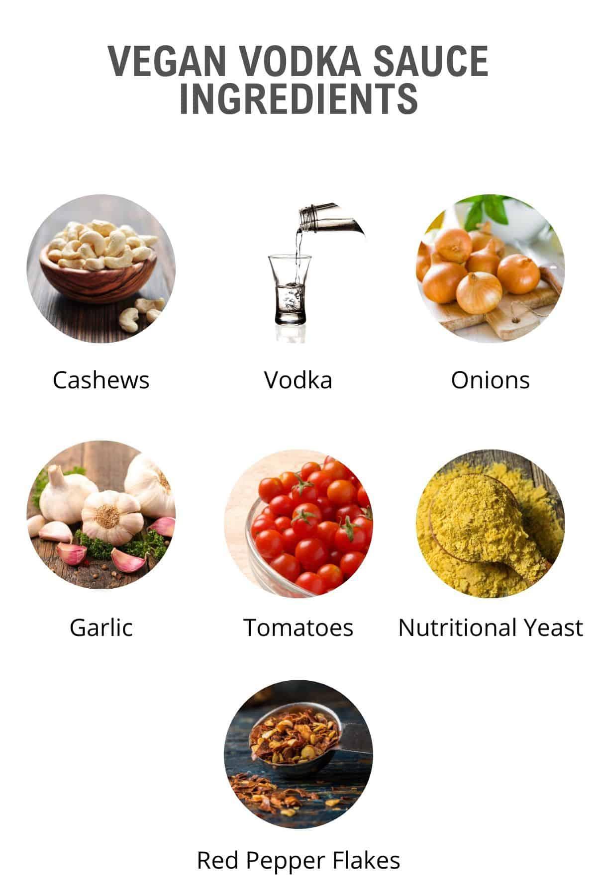 vegan vodka sauce ingredients