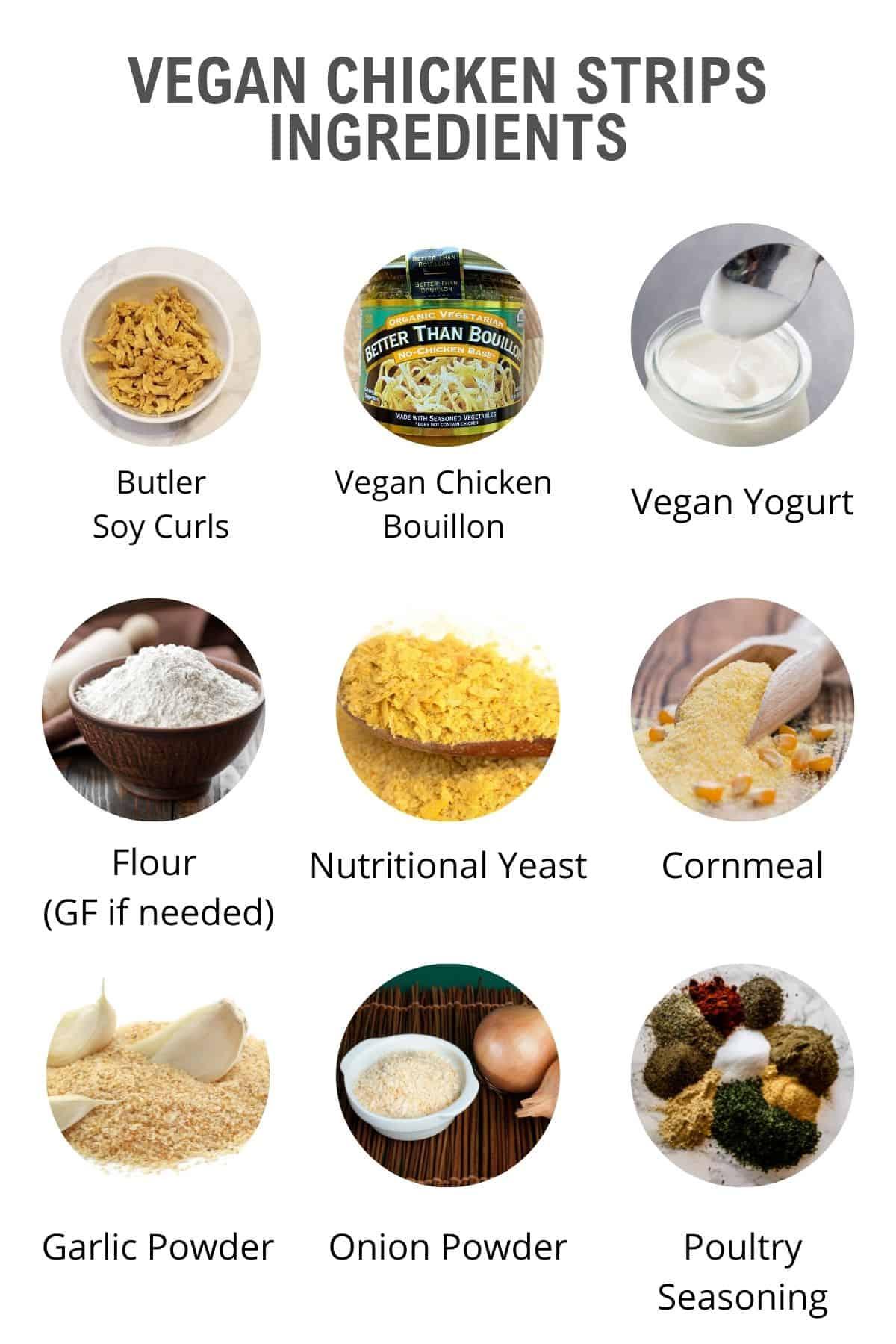 vegan chick'n ingredients